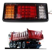 24V 40LED Trailer Rear Tail Light Red Stop Indicator Lamp Caravan Boat(China (Mainland))