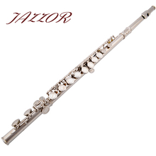 Professional NEW Flute 16 holes C tone High Quality Silver Plated authentic Flute instrumentos musicais,ocarina,flauta(China (Mainland))