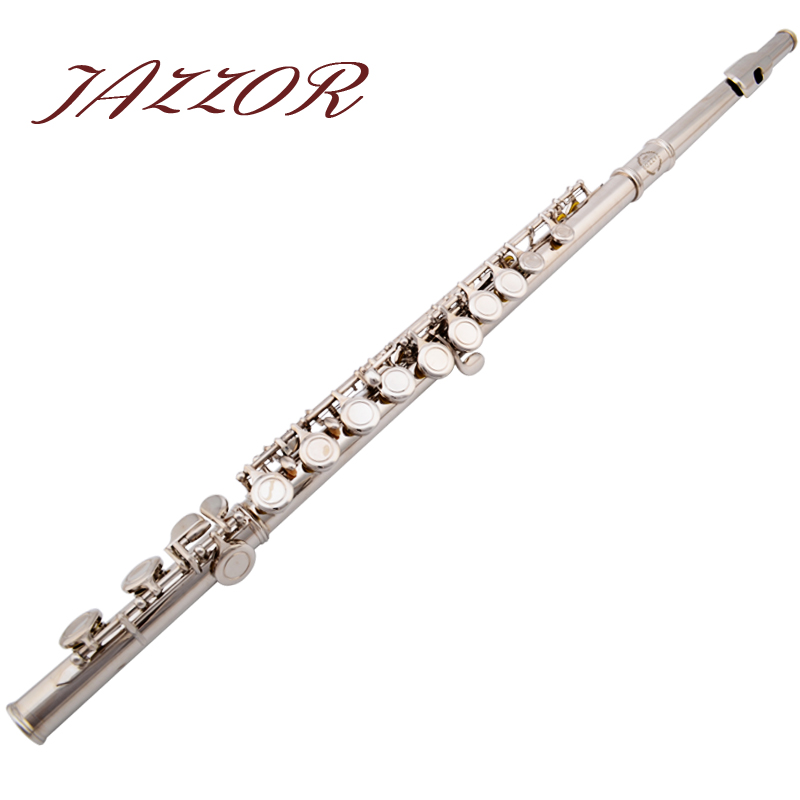 Free shipping Flute 16 holes, C tone JAZZOR High Quality Silver Plated authentic Flute instrumentos musicais,ocarina,flauta.<br><br>Aliexpress