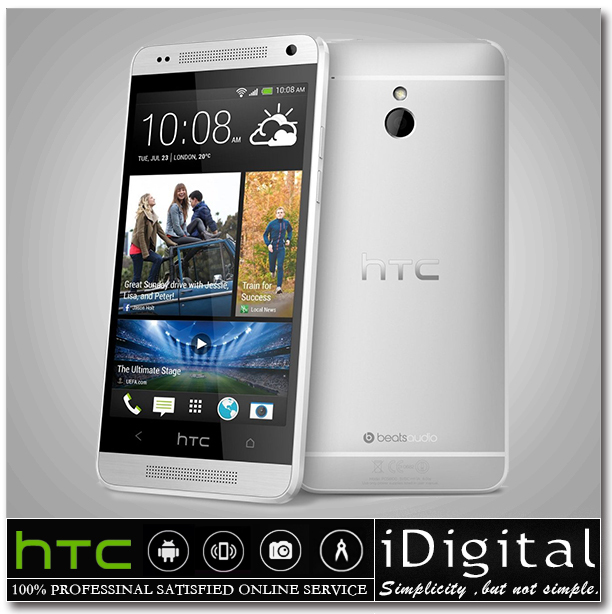 """HTC ONE Mini 601e Cell Phone 4.3"""" 16GB Dual Core 1.4GHz 1GB RAM 4.0MP Android 4.2 WIFI GPS 3G Unlocked Phone Refurbished(China (Mainland))"""