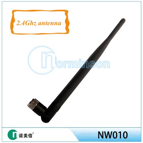 [Manufactory]2.4G wifi antenna Rubber router antenna wireless 7db ,wifi antenna types(China (Mainland))