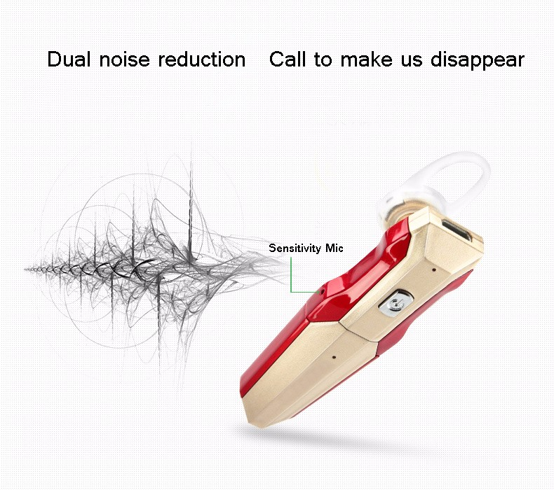 G8 Dual Battery Bluetooth Headset 4.1 Calls Handsfree Business Casual Headphones Wireless Earphone Universal Car Stereo Micphone