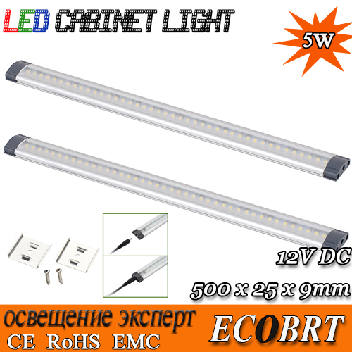2015 sale lamp [presale] 2pcs/lot 500mm long 12v led tube linear cabinet strip lights 72pcs smd3528 for kitchen under bar(China (Mainland))