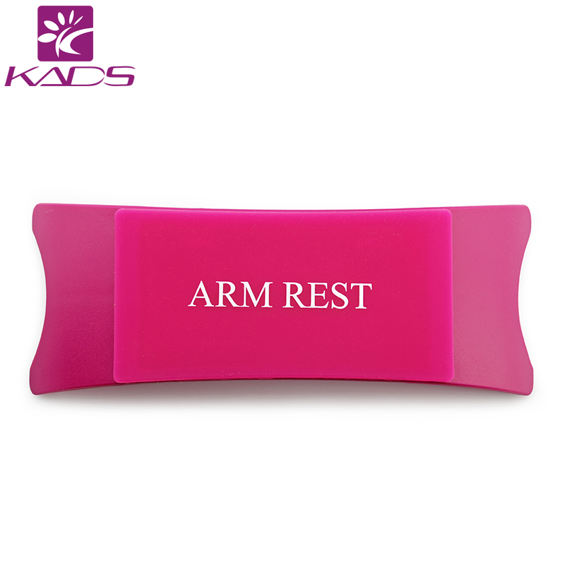 KADS Comfortable Plastic & Silicone Nail art Cushion Pillow Salon Hand Holder Nail Arm Rest Manicure Accessories Tool Equipment(China (Mainland))