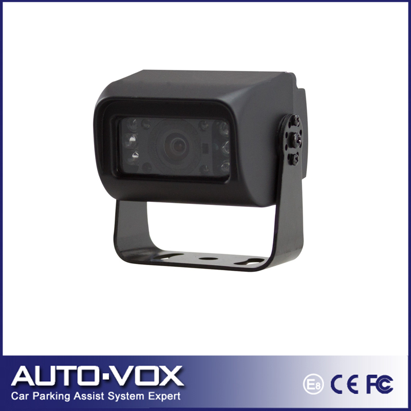 Sharp CCD Car Truck Bus reversing rear view back up camera 6 Infared LED Lights Night vision waterproof(China (Mainland))