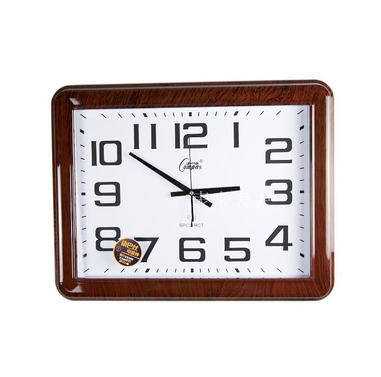 Specials genuine COMPAS clock radio large meeting room modern living room mute quartz watches China code(China (Mainland))