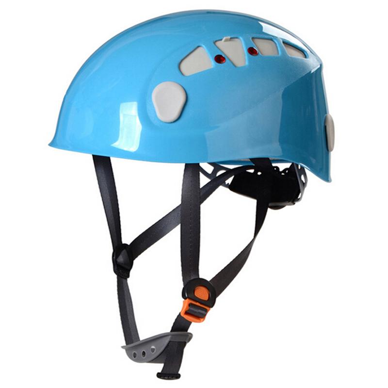 Mountain Climbing Helmet Integrally-molded Rock Climbing Helmet 4 Color CE Certification Material ABS 52-62 CM<br><br>Aliexpress