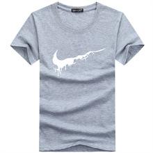2018 Nova Marca Mens Camisetas de Verão Camisas casual T Camisas de algodão de Manga Curta T Masculino camiseta Homme Plus Size t-shirt dos homens(China)