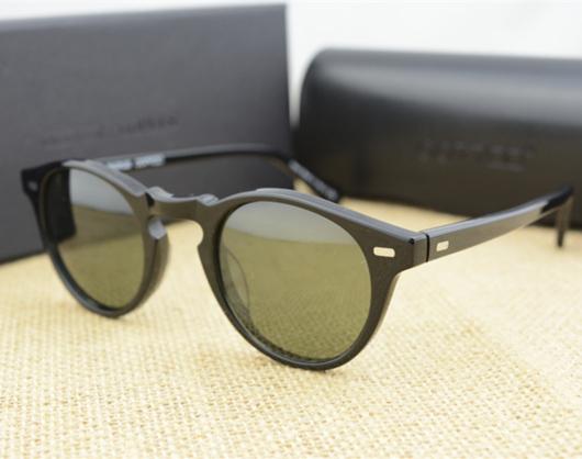 Солнцезащитные очки винтаж мужчины и женщины оливер народы 5186 солнцезащитные очки OV5186 поляризовыванная грегори пек очки ретро-дизайнер мужчины марка