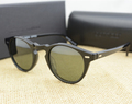 Vintage Men And Women Sunglasses Oliver Peoples 5186 Sun Glasses OV5186 Polarized Gregory Peck Glasses Retro