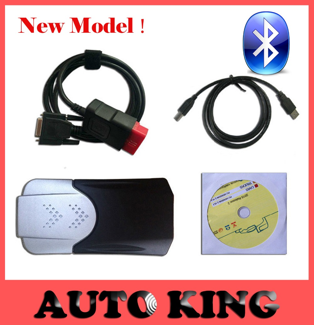 Latest 2015.R3 Software DVD ! New model mvd TCS CDP With Bluetooth VCI 3 in1 for CARs and TRUCKs. obd2 II scan diagnostic tools(China (Mainland))