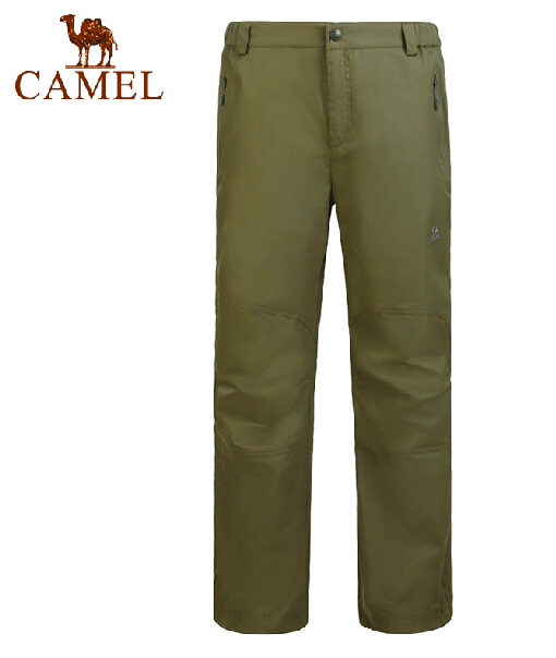 Camel Men Trousers authentic outdoor waterproof windproof breathable warmth outdoor trousers male pants Trousers
