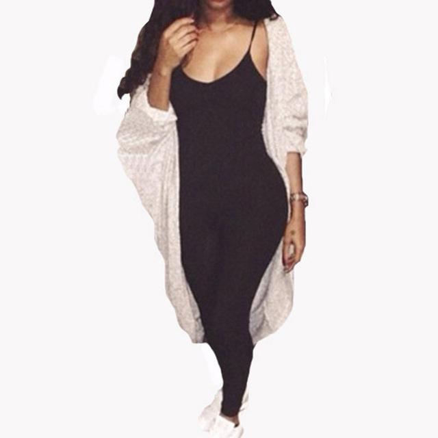 2016 Летний Новый Женская Мода комбинезон Сплошной Цвет Без Рукавов Простой И Элегантный ...