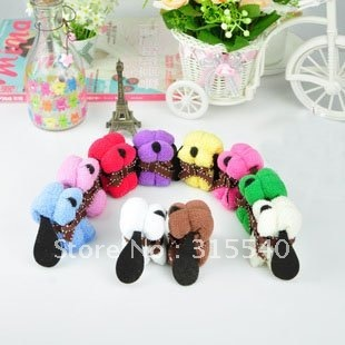 Free shipping(50pcs/lot), Pure cotton cake towels, Lovely mini dog towels, Candy towels, Wedding/Valentine's day gift, LG007