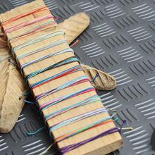 Buy Fashionable Friendship Bracelets Handmade Weave Woven Rope wax String Bracelet jewelry Charm Strand Bracelet women for $1.68 in AliExpress store