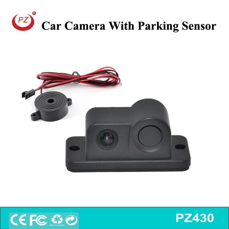 park sensörü ile araç yedek kamera