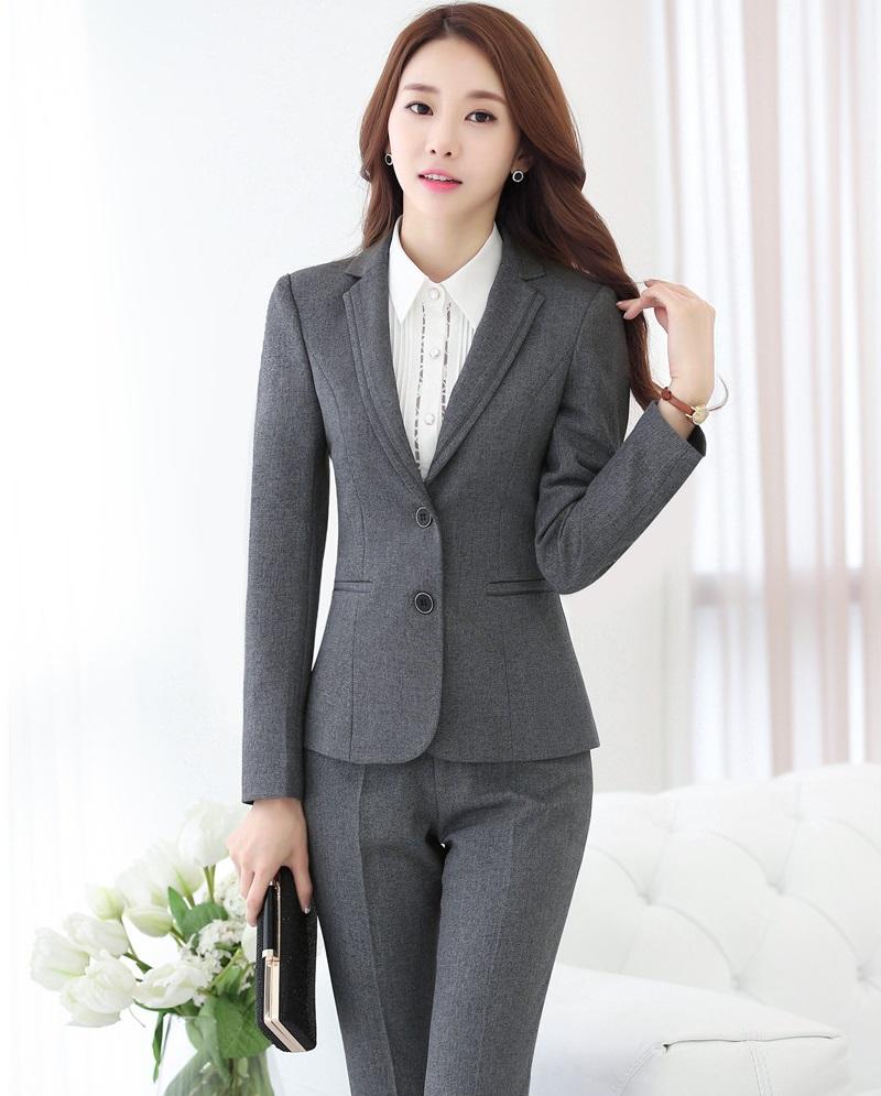 femmes longue veste tailleur pantalon promotion achetez des femmes longue veste tailleur. Black Bedroom Furniture Sets. Home Design Ideas