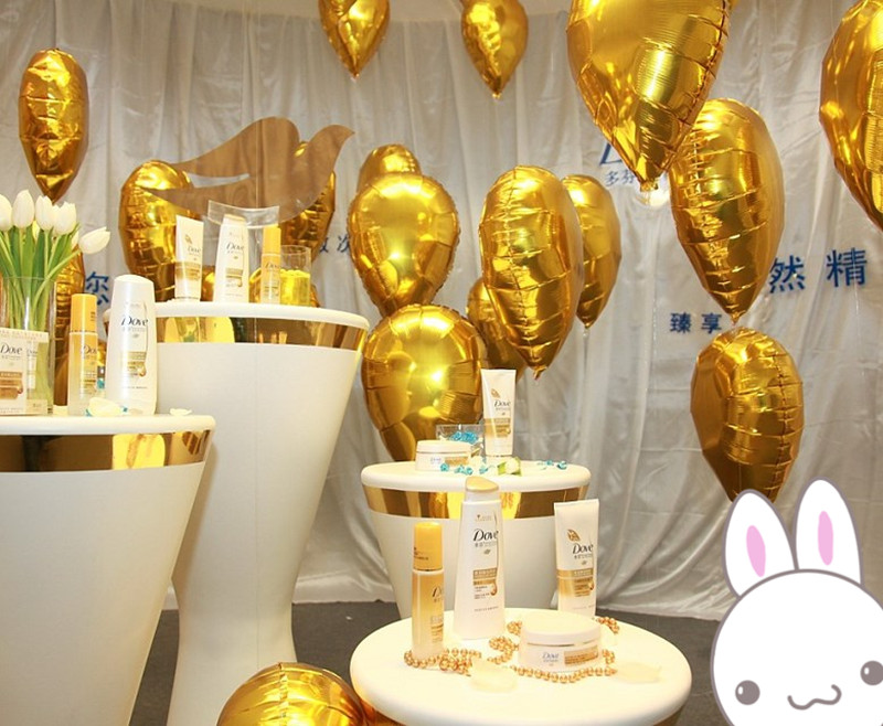 200pcs/lot Elliptic aluminum balloons 18 inch water drop shape film balloons kids birthday party favor decoration<br><br>Aliexpress