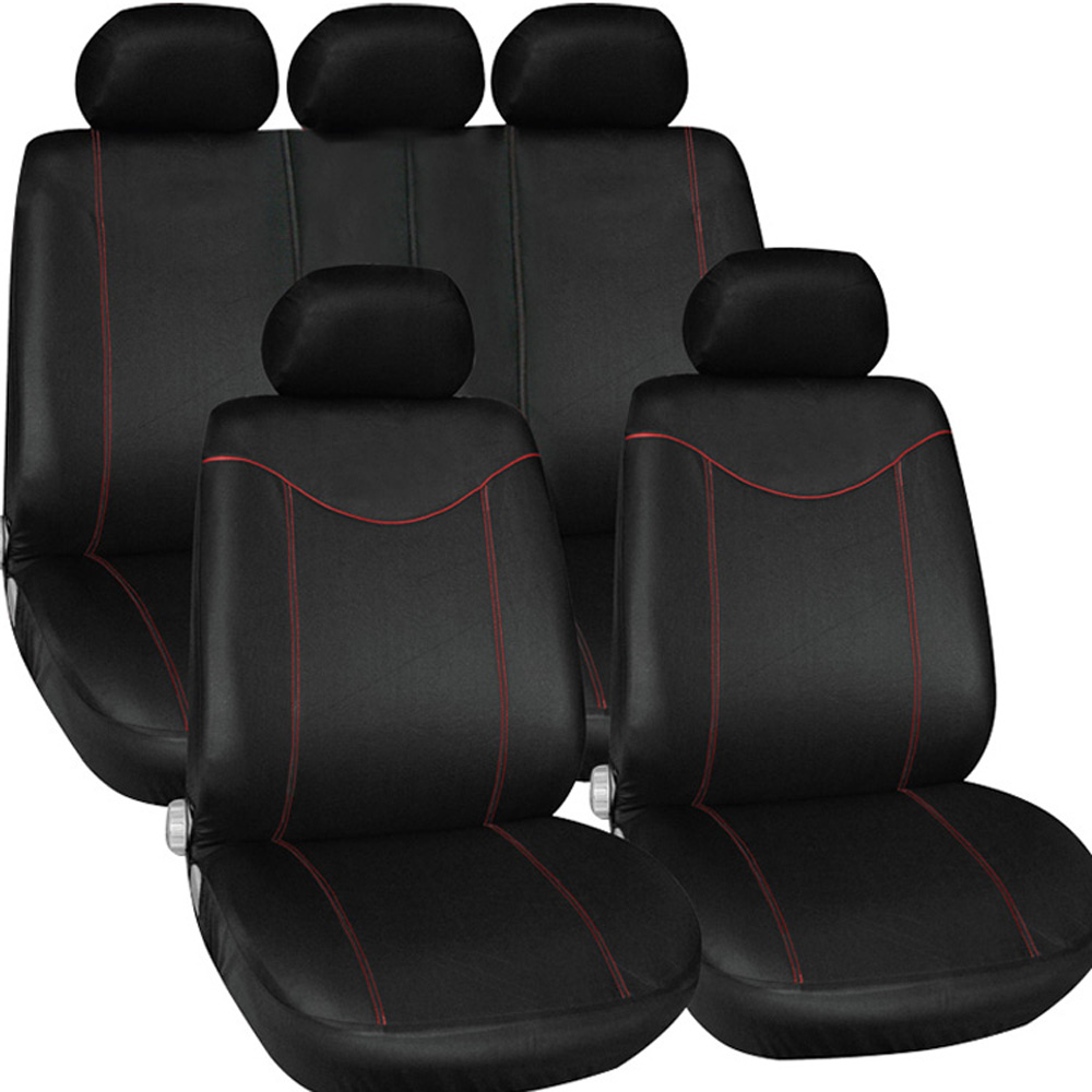 Car Cover Auto Interior Accessories Styling Car Seat Cover Universal Seat Cushion Supply 9PCS/ste Anti Mud Storage Bag(China (Mainland))