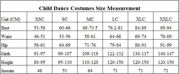 Dance costume--child size