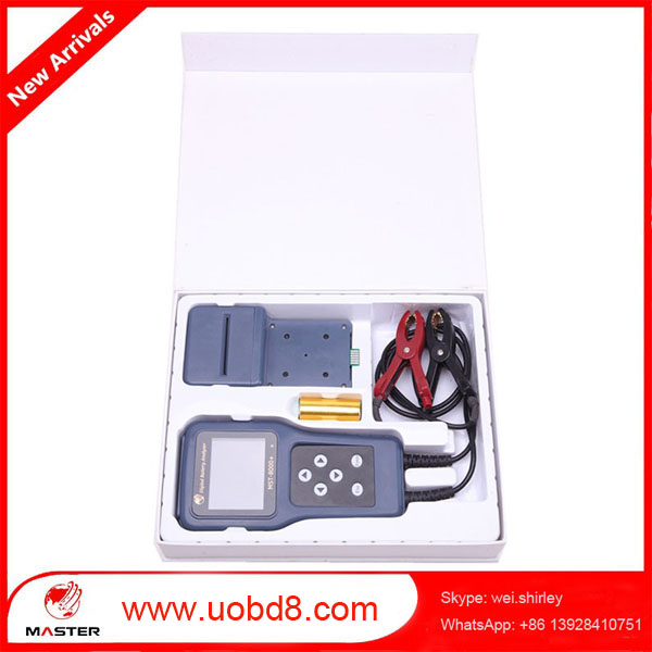 2016 promotion free shipping 12V and 24V vehicle start battery tester auto car battery analyzers(China (Mainland))