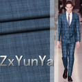 Free Shipping 90 high content of wool anti wrinkle worsted suit wool fabric British style striped