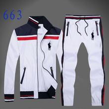 Tracksuits Hoodie Ralphly Polo Men's Zipper Sport Suits Fashion Coats Jacket Set Pants Sportswear Brand Male sweatshirt(China (Mainland))