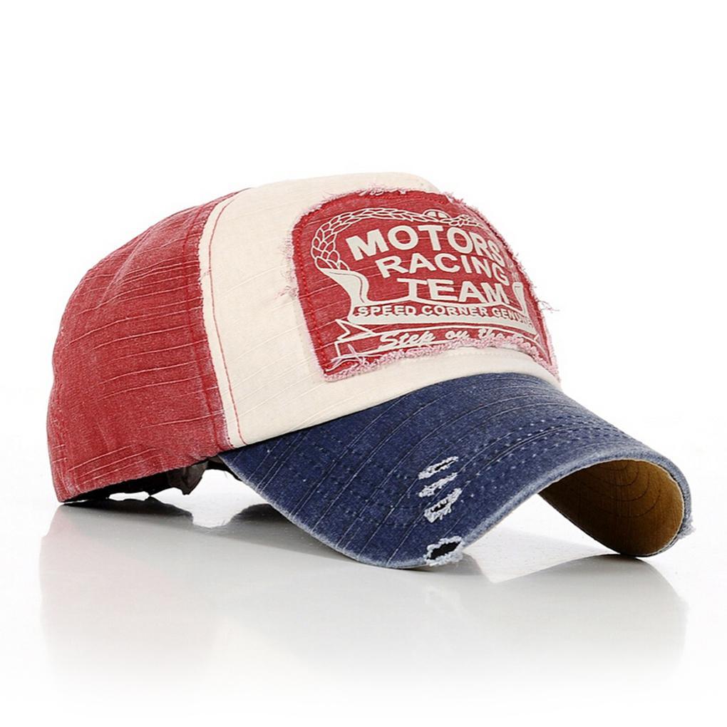 Motors Racing Team Cotton baseball snapback hats caps sports hip hop wholesale support(China (Mainland))