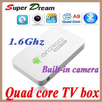 MK812A MK802 IV RK3088 Quad Core Quad-core Cortex-A9 MK812 A Mini PC Android Camera Dongle HD WiFi XBMC DLNA Google TV Box Stick