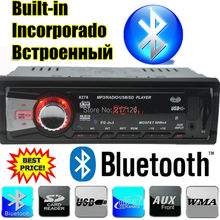 2015 New 12V Car Stereo car Radio bluetooth MP3 Audio Player built in Bluetooth USB SD MMC Port Car Electronics In Dash 1 DIN