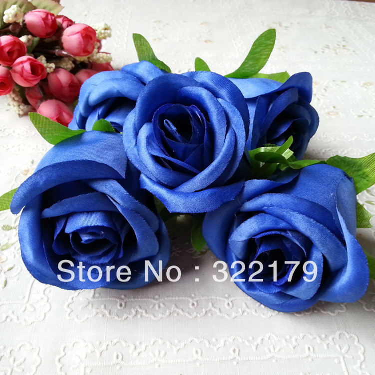 Details about 3 x wedding flower bridal hair clip flowers for Flower heads for crafts