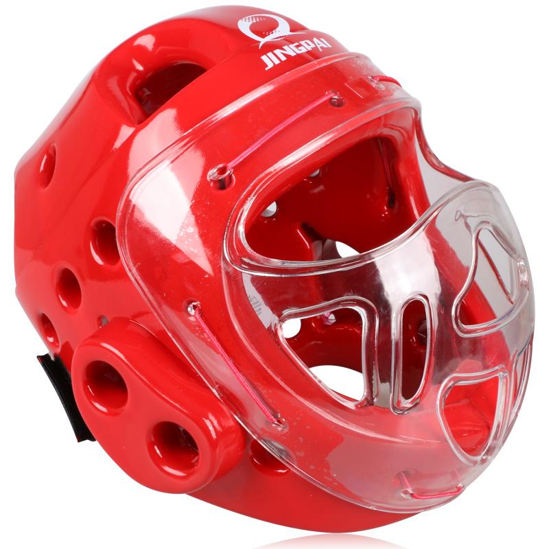 2016new 1x Closed Type Boxing Helmet Head Protector for Taekwondo Karate Tai Kick Competition training fighting face mask helmet