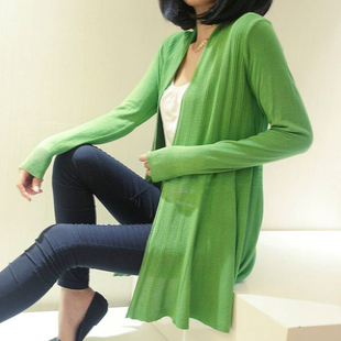 2013 autumn women's cape long design cutout sweater air conditioning sun protection clothing shirt thin cardigan - MS Fanny's online store