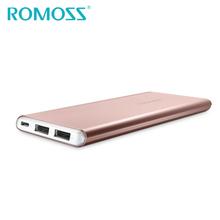 Buy Original ROMOSS Powerbank 10000mAh GT1-RG Power Bank External Backup Aluminum Alloy Battery Charge iPhone 7 plus Samsung for $24.63 in AliExpress store