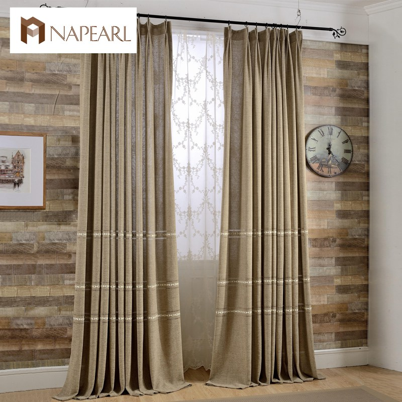Online get cheap white linen drapes Contemporary drapes window treatments