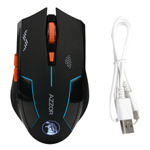 Performance 2.4GHZ 2400DPI Optics Wireless Mouse Rechargeable Gaming Mouse Lithium Battery Build-in Mice Laser DN001(China (Mainland))
