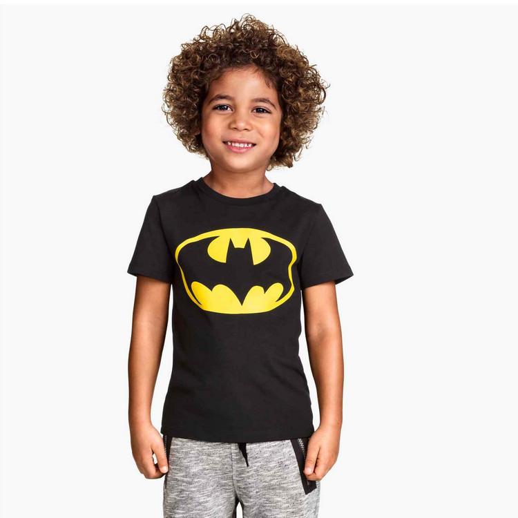 Гаджет  Summer Fashion Cartoon Boys Tee Batman Baby Boys T Shirts High Quality Child