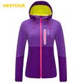 NEXTOUR Outdoor Jacket woman winter Soft shell Jacket Waterproof fleece in coat Thermal trekking hunting Hiking