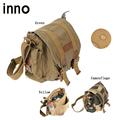 Portable Canvas Shoulder Bag DSLR Camera Shoulder Messenger Bag with Paitition Padded Digital SLR Camera Photo