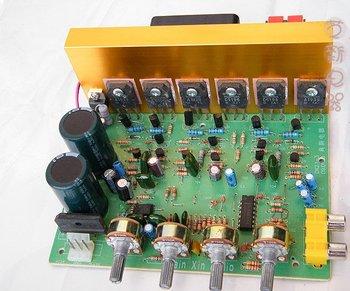 2.1 channel Power amplifier PCB board Hi-Fi Car Audio Amplifier 18V-24V  power DIY Amplifier PCB  Dongzhi 2.1