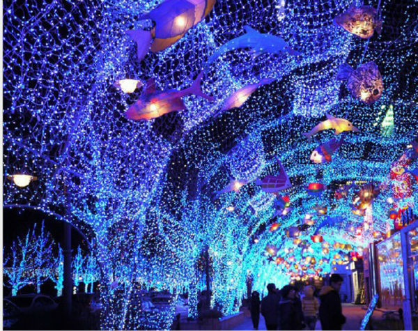 2m X 3m 210 Led Net Fairy Lights Christmas Decoration