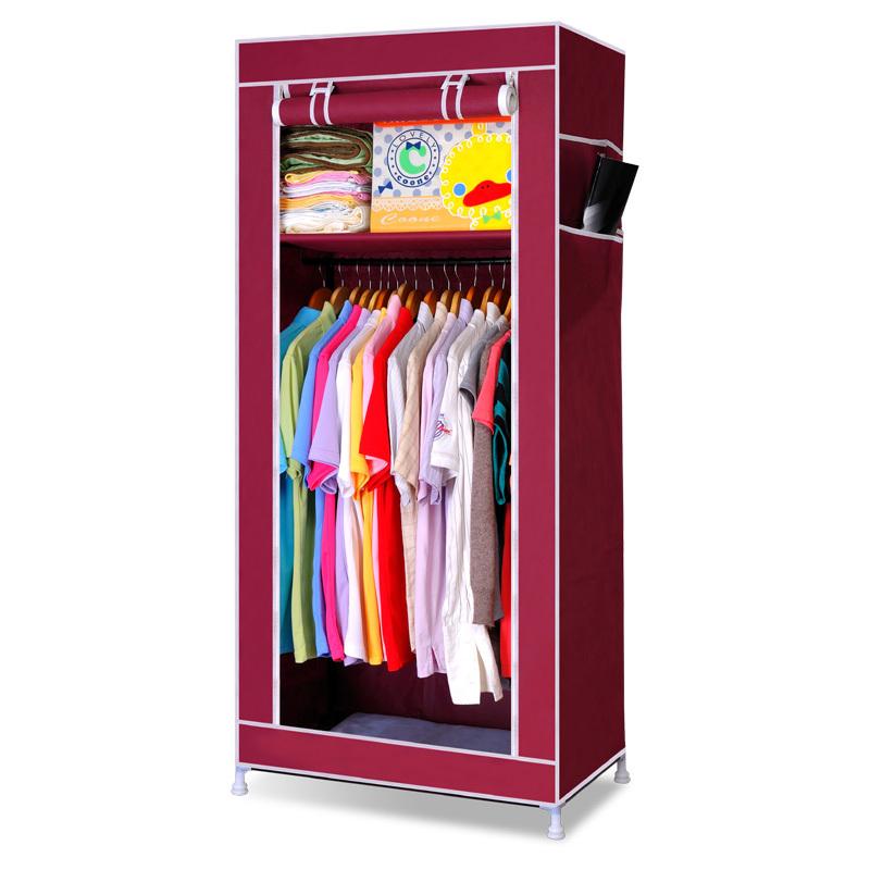 diy simple wardrobe combination fabric large capacity