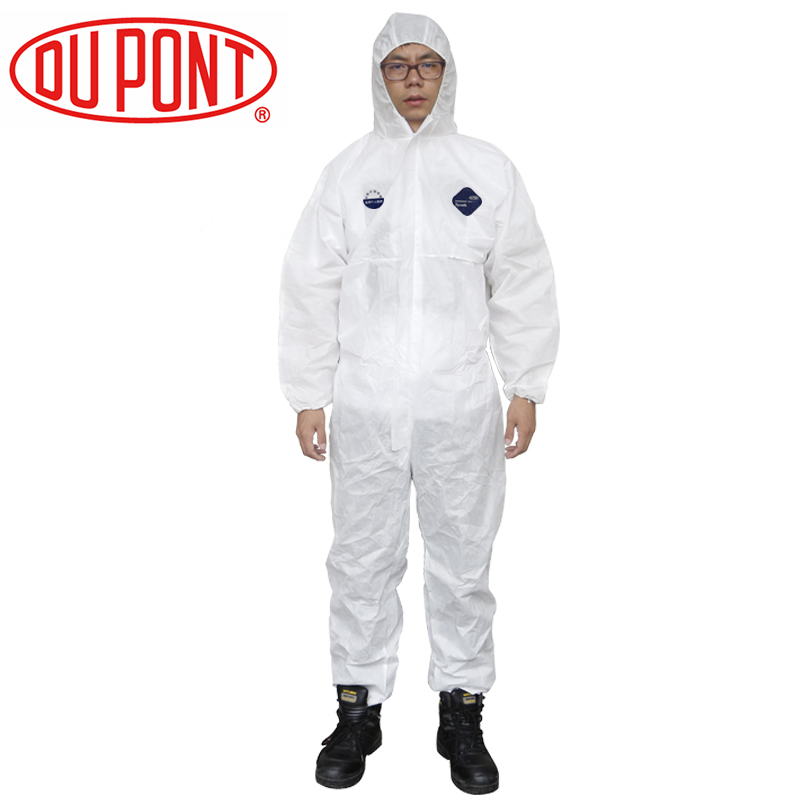 Protective clothing Tyvek1422A chemical suits, dust-proof clothing, paint suits, anti-dust Safety overalls(China (Mainland))
