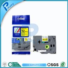P touch tz tape offered TZ-231,TZ-431,TZ-531,TZ131,TZ631,12mm label tape for P touch, compatible tz tape