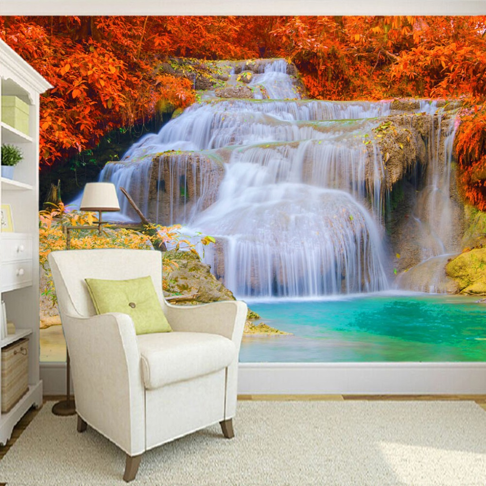 Printing wall paper promotion shop for promotional for Custom mural printing
