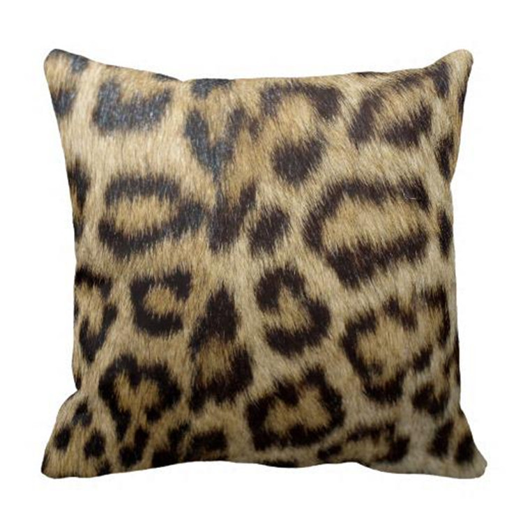 Animal Pillows Bulk : Online Buy Wholesale leopard print cushions from China leopard print cushions Wholesalers ...