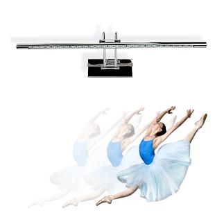 Фотография Modern brief bathroom high quality stainless steel led mirror light mirror cabinet