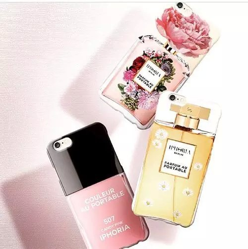 Fashion! Nail polish for Iphone 6plus protective sleeve Hallucination Perfume bottles for Apple iphone shell(China (Mainland))
