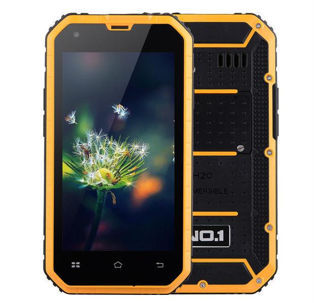 Original 4.5'' NO.1 M2 Rugged Waterproof IP68 MTK6582 Quad Core Android 4.4 Smartphone 1GB RAM 8GB ROM 13MP Dustproof CellPhone(China (Mainland))