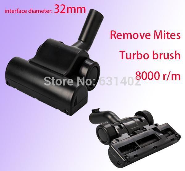 Гаджет  Vacuum brush Cleaner accessories 32mm interface / Remove mites Turbo brush / in stock None Бытовая техника